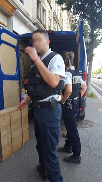 Débarras Cave à Lyon Police Municipale à Lyon
